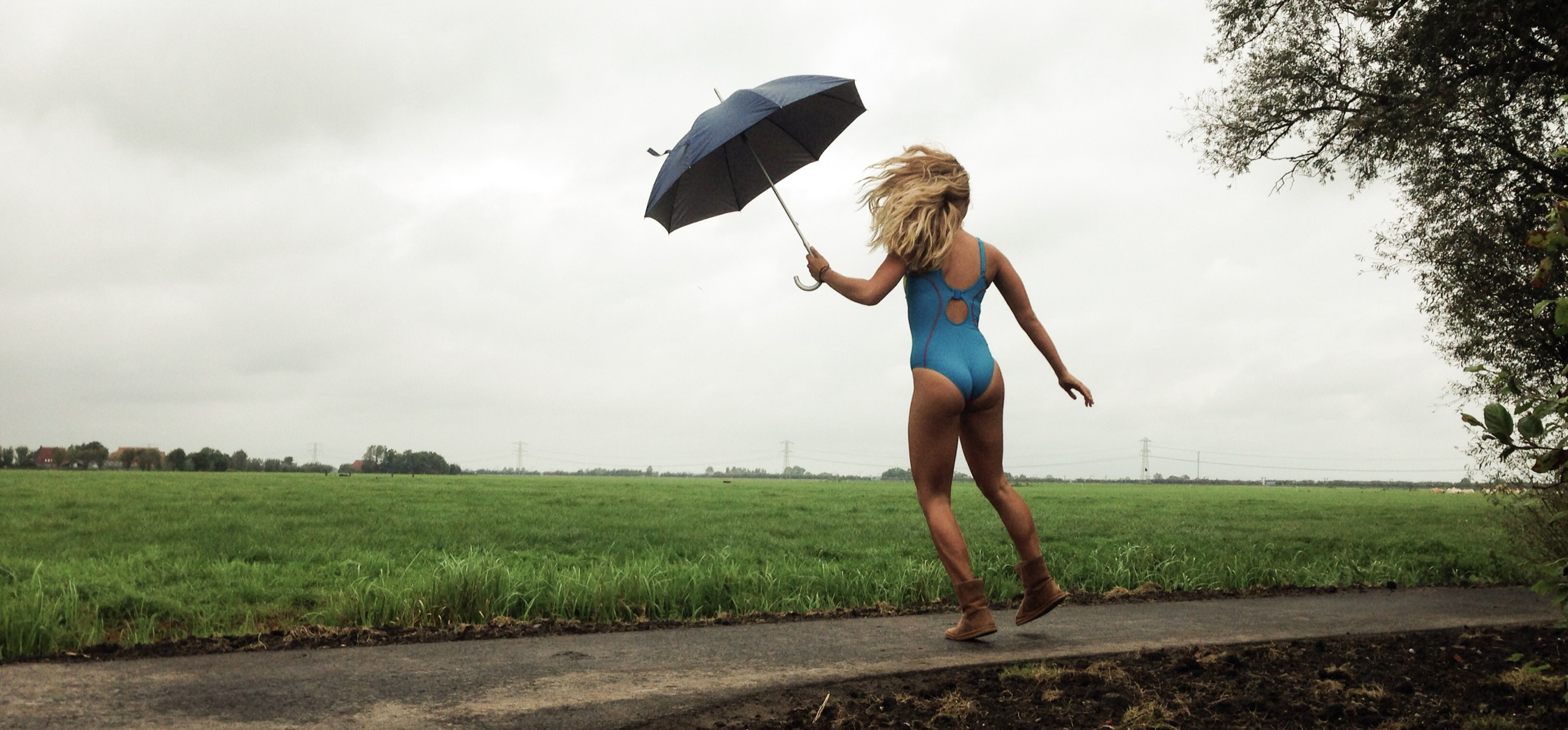 Badpak Met Ingebouwde Bh.Het Catwalk Moment Met Het Freya Active Zwempak Sportbhblog