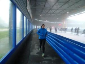 ULLA SPORT-BH - MET BEUGEL test Patricia met Schaatsen