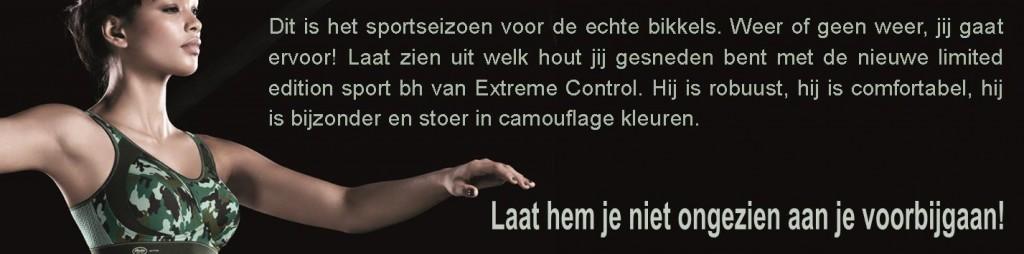 Limited Edition van de Extreme Control sport bh